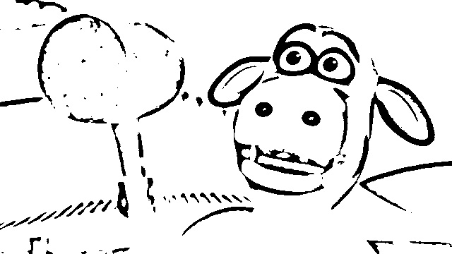 Back at The Barnyard Coloring Picture 11