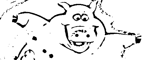 Back at The Barnyard Coloring Picture 2
