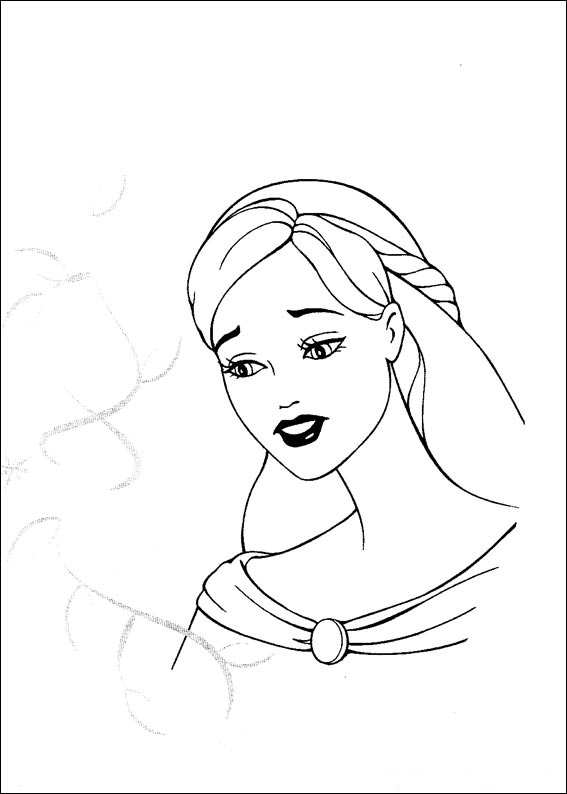 Barbie and The Magic Pegasus Coloring Picture 5