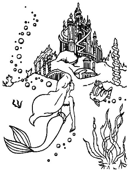 Barbie in a Mermaid Tale Coloring Picture 10