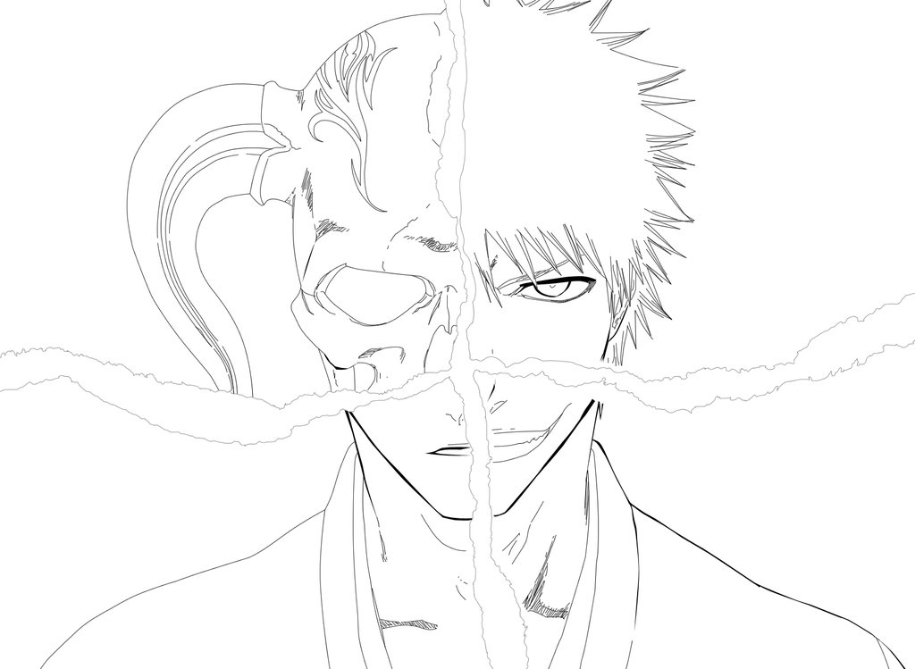 Bleach Coloring Picture 1
