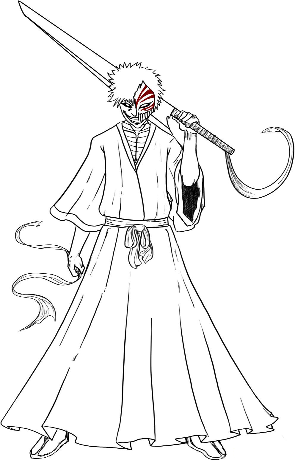 Bleach Coloring Picture 5