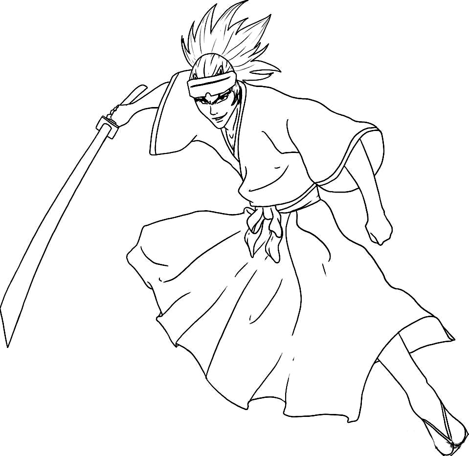 Bleach Coloring Picture 7