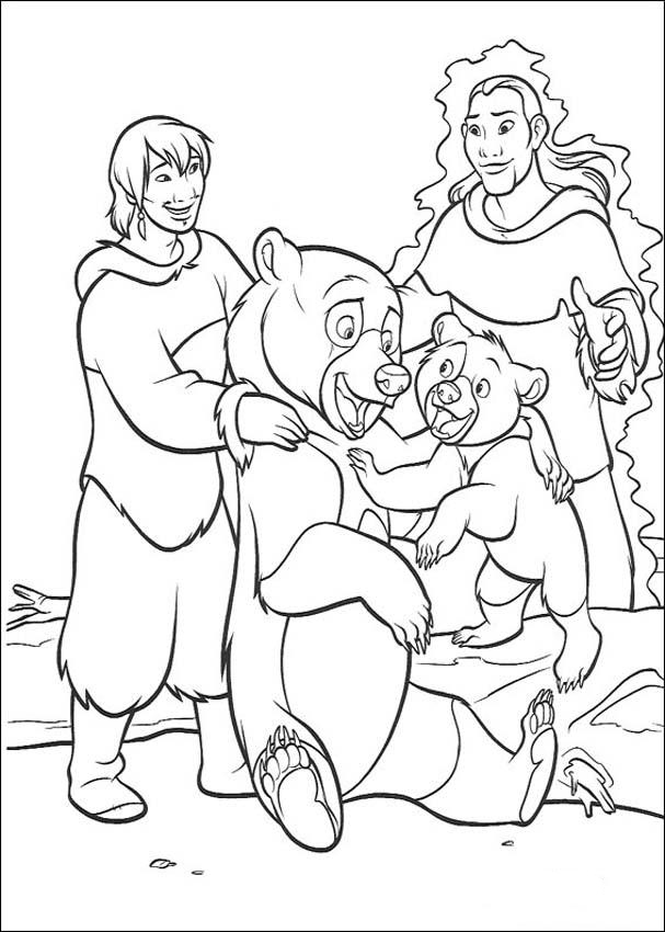Brother Bear Coloring Picture 11