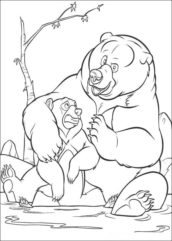 Brother Bear Coloring Picture 5