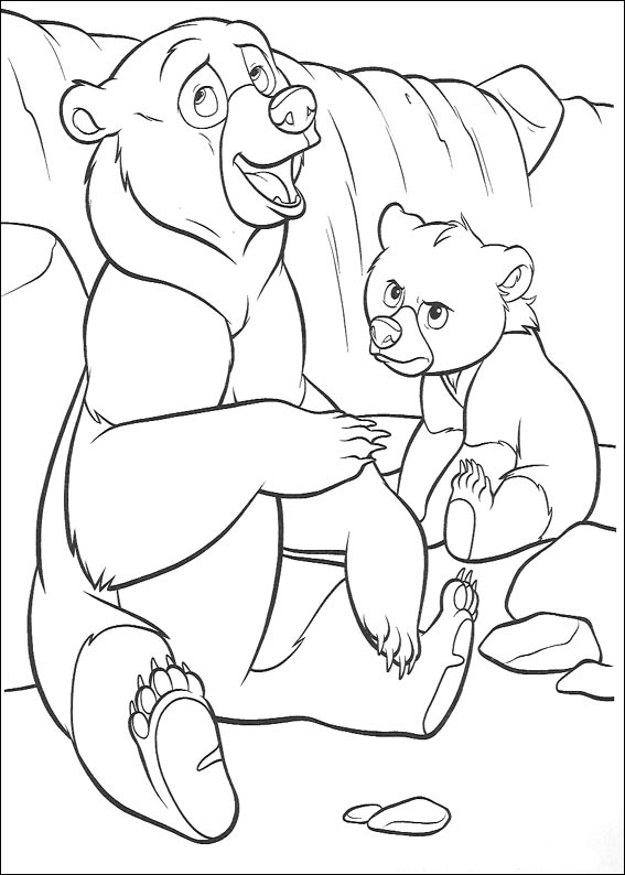 Brother Bear Coloring Picture 7
