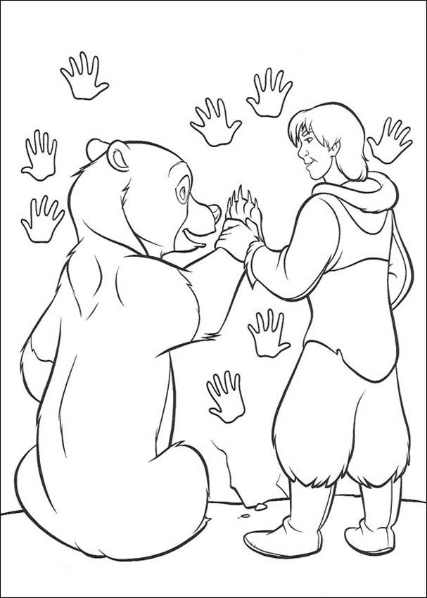Brother Bear Coloring Picture 8