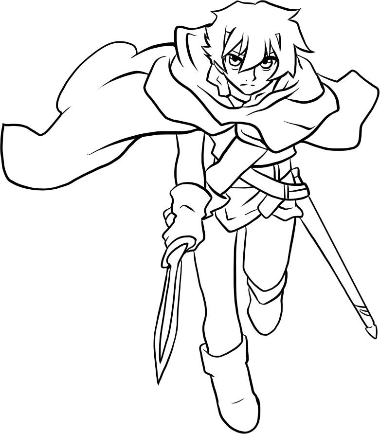 Deltora Quest Coloring Picture 10