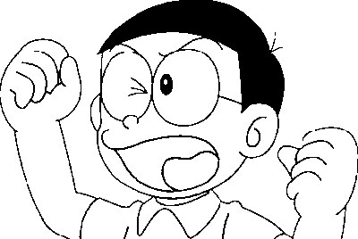 Doraemon Coloring Picture 1