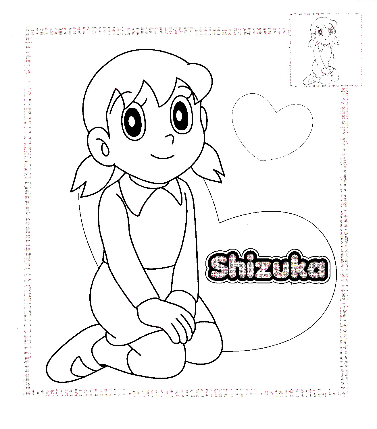 Doraemon Coloring Picture 7
