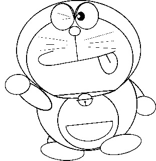 Doraemon Coloring Picture 8