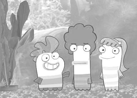 Fish Hooks Coloring Picture 12