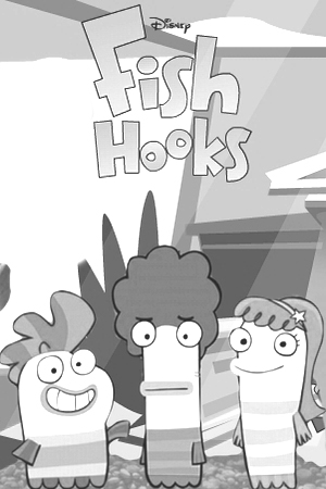 Fish Hooks Coloring Picture 6