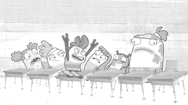 Fish Hooks Coloring Picture 7