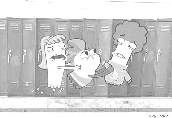 Fish Hooks Coloring Picture 8