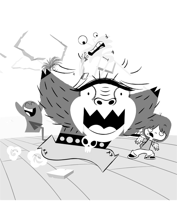 Fosters Home for Imaginary Friends Coloring Picture 12