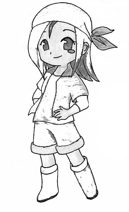 Harvest Moon Coloring Picture 7