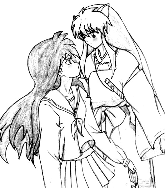 Inuyasha The Final Act Coloring Picture 5