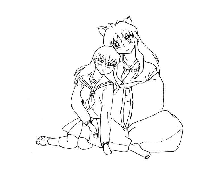 Inuyasha The Final Act Coloring Picture 6