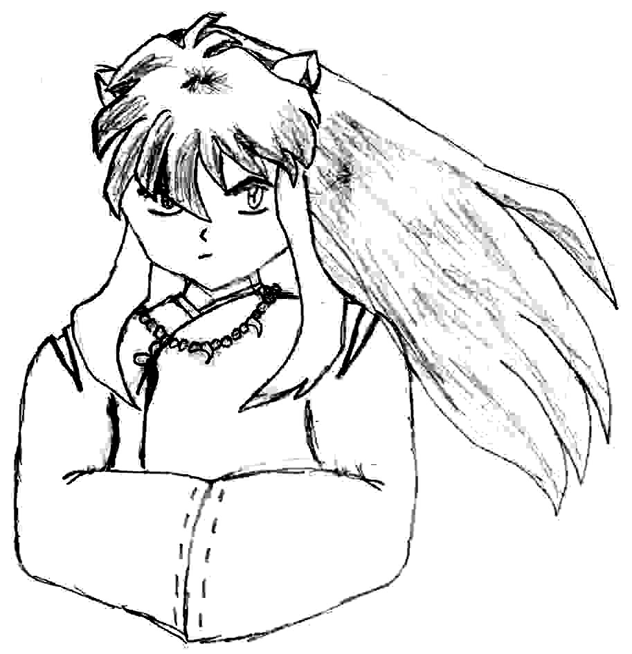 Inuyasha The Final Act Coloring Picture 7