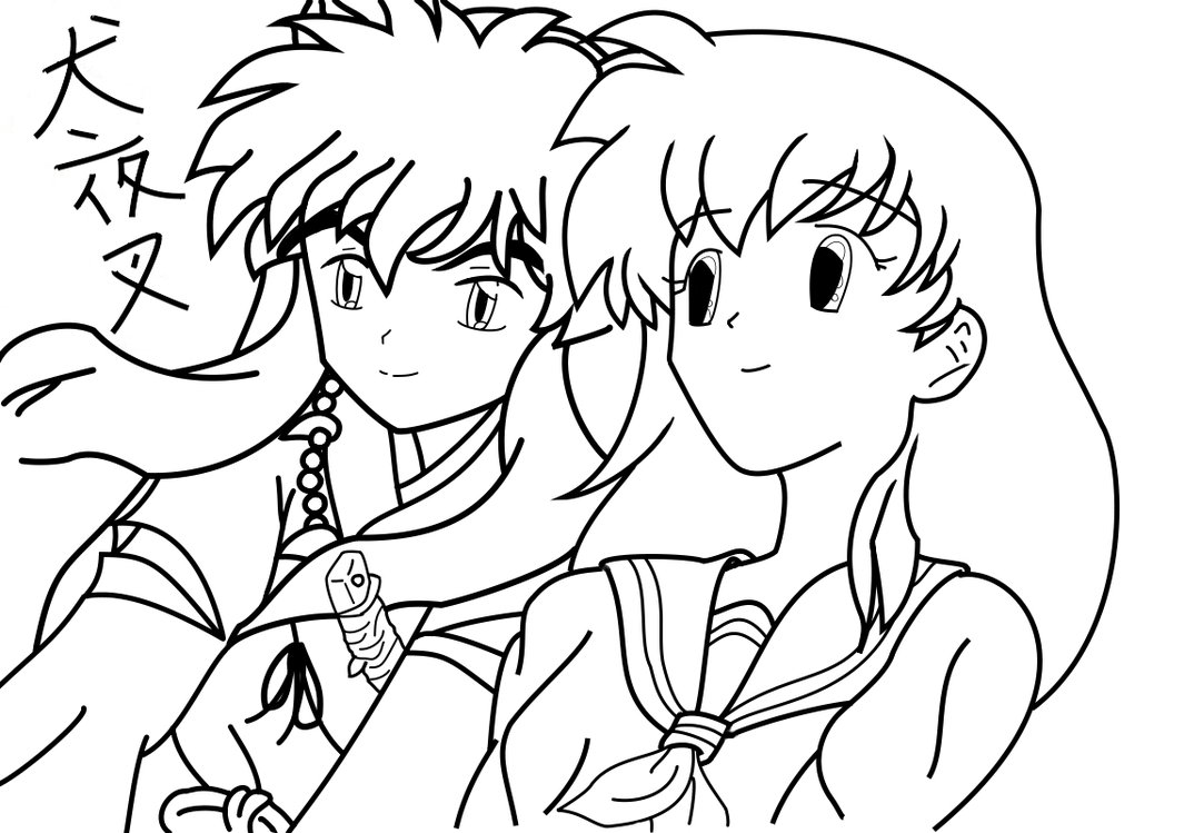 Inuyasha The Final Act Coloring Picture 8