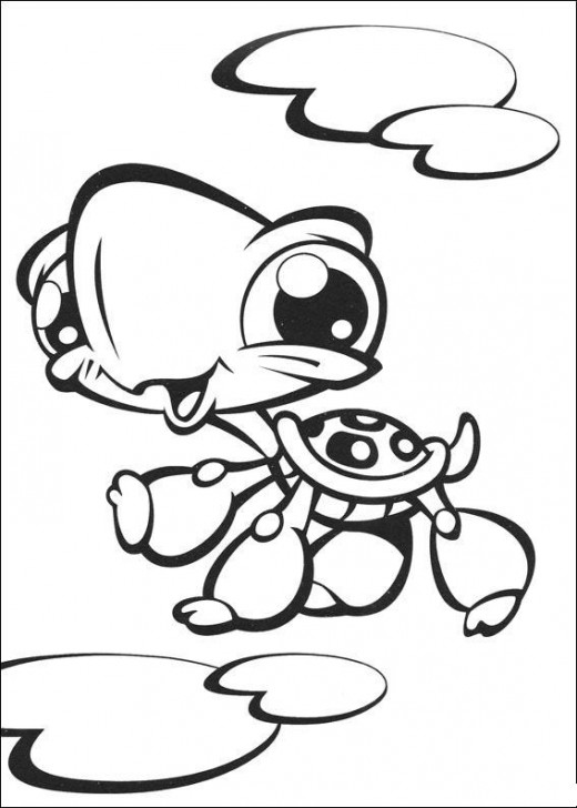 Littlest Pet Shop Coloring Picture 3