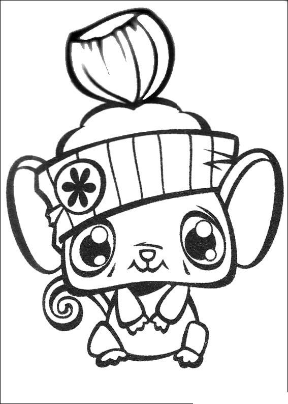 Littlest Pet Shop Coloring Picture 8