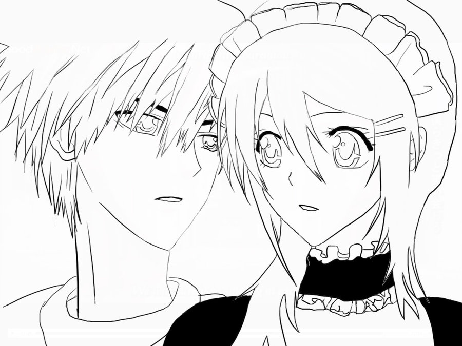Maid Sama Coloring Picture 6