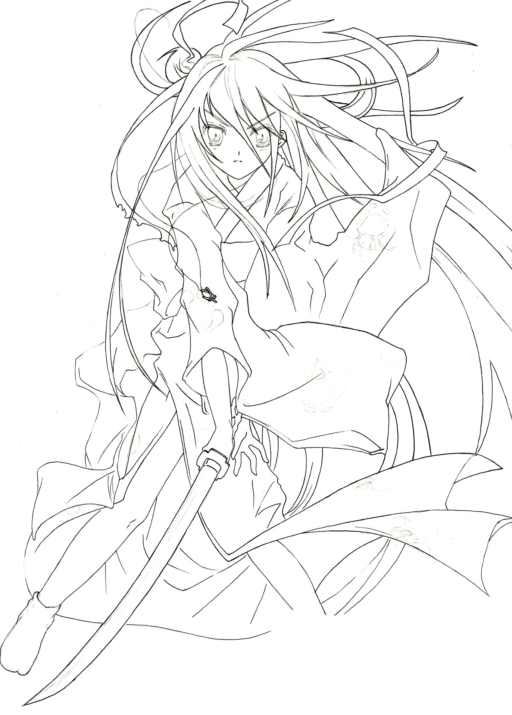Shakugan No Shana II Coloring Picture 3
