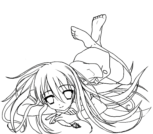 Shakugan No Shana II Coloring Picture 4