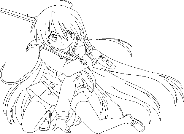Shakugan No Shana II Coloring Picture 8