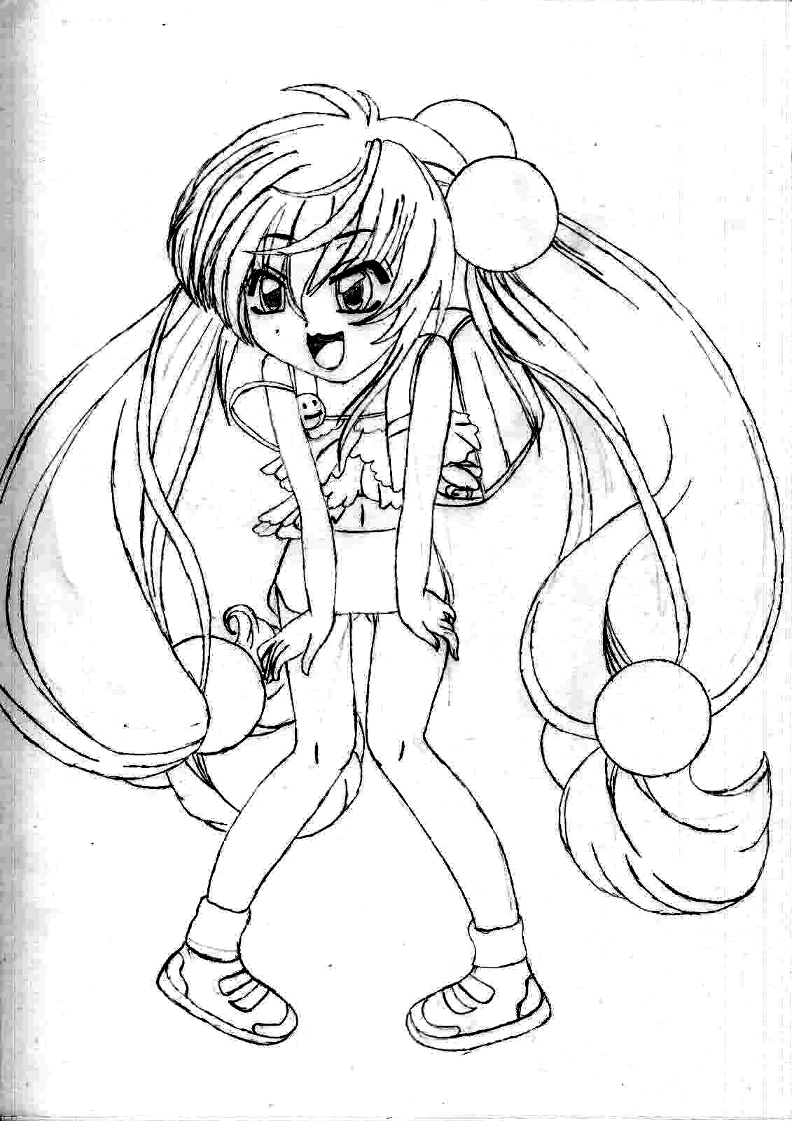 Shakugan No Shana II Coloring Picture 9