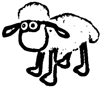 Shaun The Sheep Coloring Picture 4
