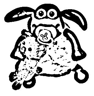 Shaun The Sheep Coloring Picture 8