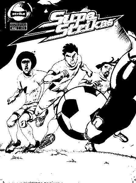Supa Strikas Coloring Picture 8
