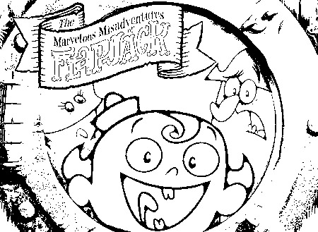 The Marvelous Adventure of Flapjack Coloring Picture 1