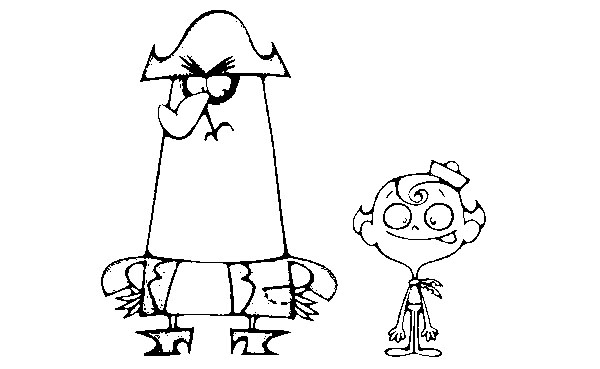 The Marvelous Adventure of Flapjack Coloring Picture 5