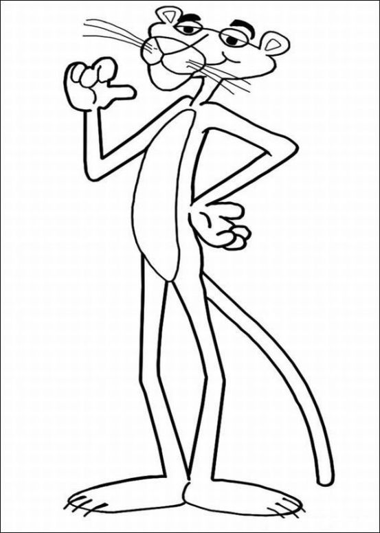 The Pink Panther Show Coloring Picture 11