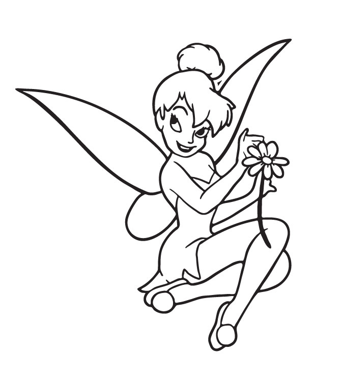 Tinkerbell Coloring Picture 11