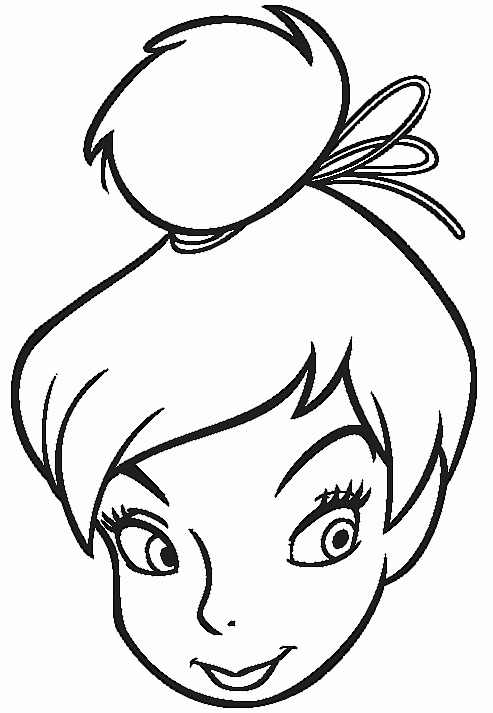 Tinkerbell Coloring Picture 7