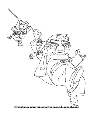 Up Coloring Picture 3