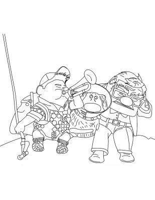 Up Coloring Picture 6