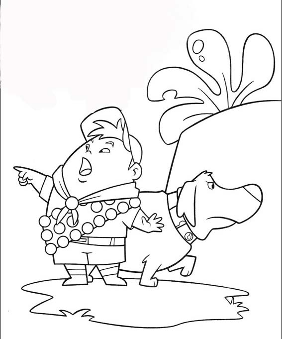 Up Coloring Picture 7