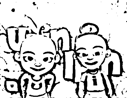 Upin Ipin Coloring Picture 5