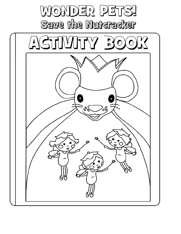 Wonder Pets Coloring Picture 2