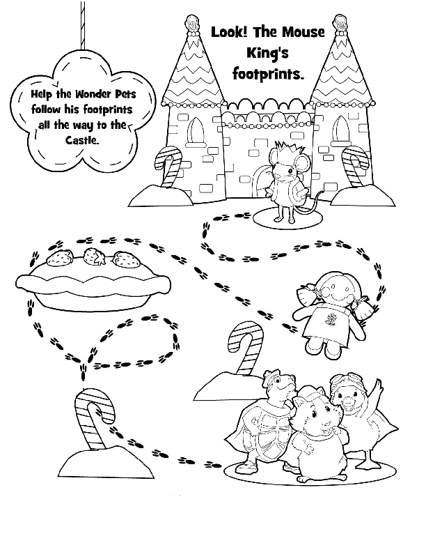 Wonder Pets Coloring Picture 4
