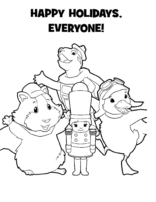 Wonder Pets Coloring Picture 6